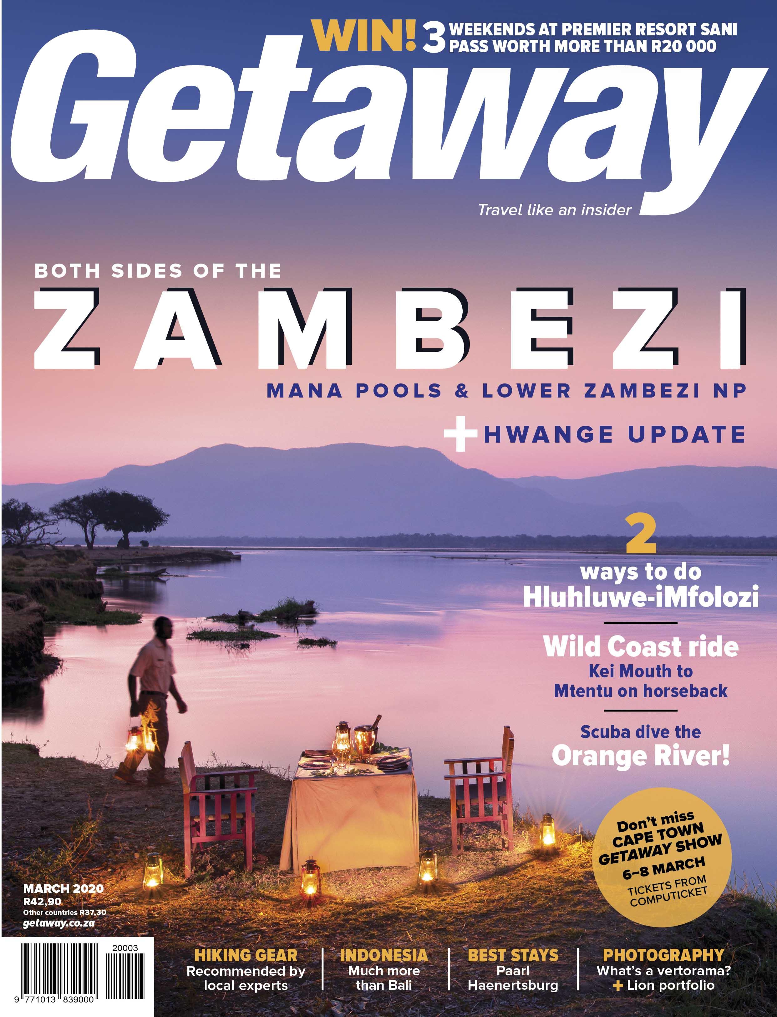 Getaway March Zambezi cover